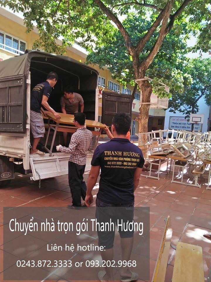 Dịch vụ chuyển nhà Quyết Đạt tại đường Trần Bình Trọng