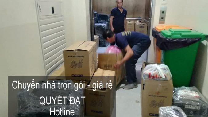 Dịch vụ chuyển nhà Quyết Đạt tại đường Tam Trinh