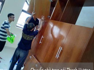 Dịch vụ chuyển nhà Quyết Đạt tại đường Nguyễn Thái Học
