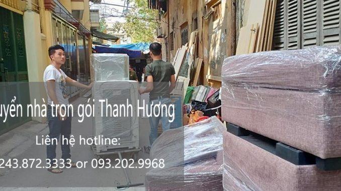 Dịch vụ chuyển nhà Quyết Đạt tại đường Quang Trung