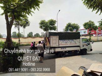 Dịch vụ chuyển nhà trọn gói Quyết Đạt tại phố Hòa Mã