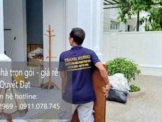 Dịch vụ chuyển nhà Quyết Đạt tại đường Thọ Lão