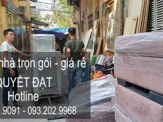 Dịch vụ chuyển nhà trọn gói Quyết Đạt tại phố Thi Sách
