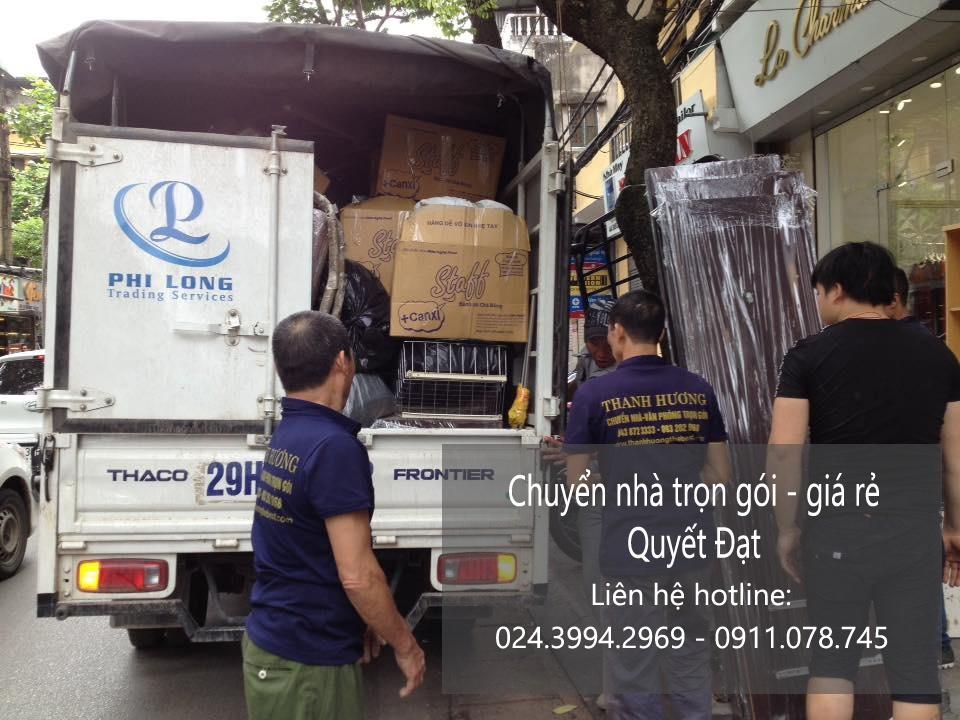 Dịch vụ chuyển nhà trọn gói tại đường vũ tông phan