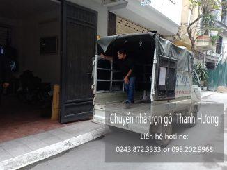 Dịch vụ chuyển nhà trọn gói tại phố An Xá đi Hải Phòng